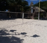 Beach tennis courts - Palm beach