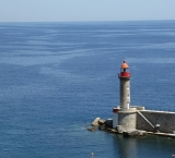 The lighthouse of Bastia