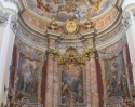 Breathtaking frescoes in the Jesuit Church of St. Ignatius