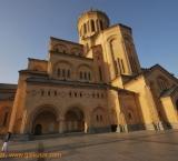 Tsminda Samba (Holy Trinity) cathedral build in 2004, Tbilisi