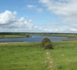 Clonmacnoise and the river Shannon