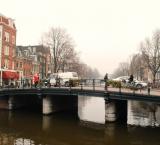One of Amsterdam's many bridges