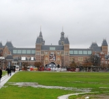 One of the many things to do in Amsterdam: Visit the Rijksmuseum