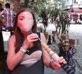 Smoking Hookah in Istanbul