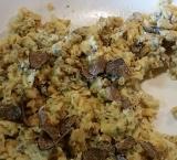 Fritaja with truffles