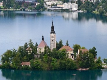 Incredible Lake Bled Slovenia