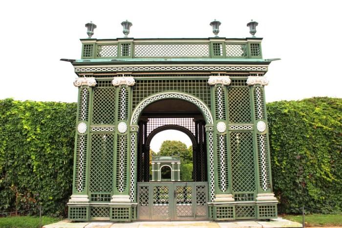 Gazebo at Schonbrunn Palace Vienna