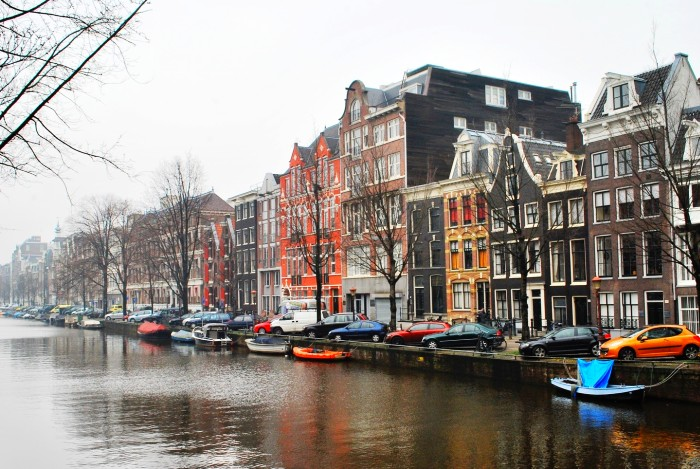 Walking along the canals is a must in Amsterdam