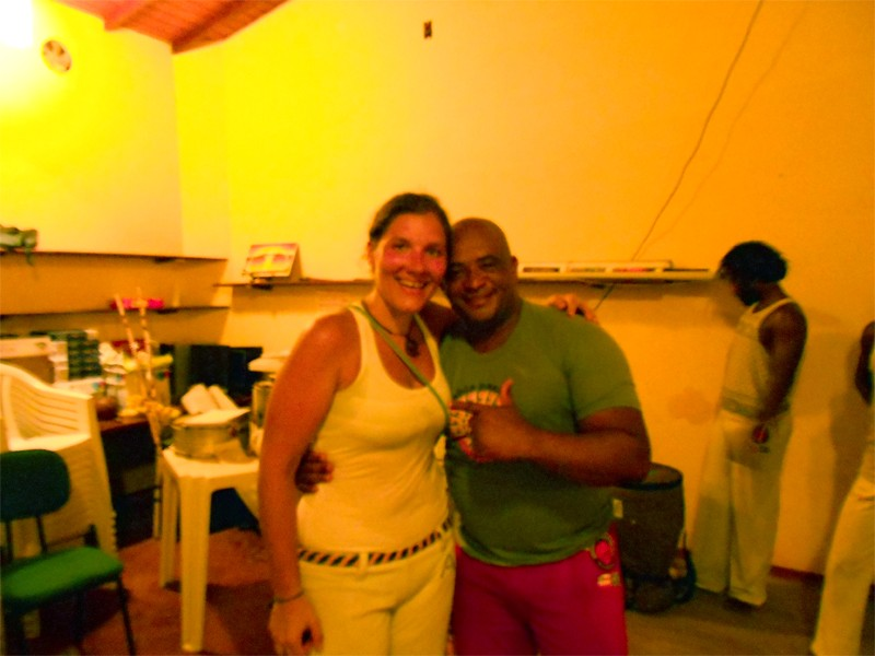 You can not travel in Bahia without doing capoeira