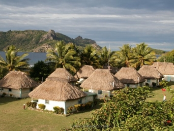 Fiji – when sun sinks into the ocean