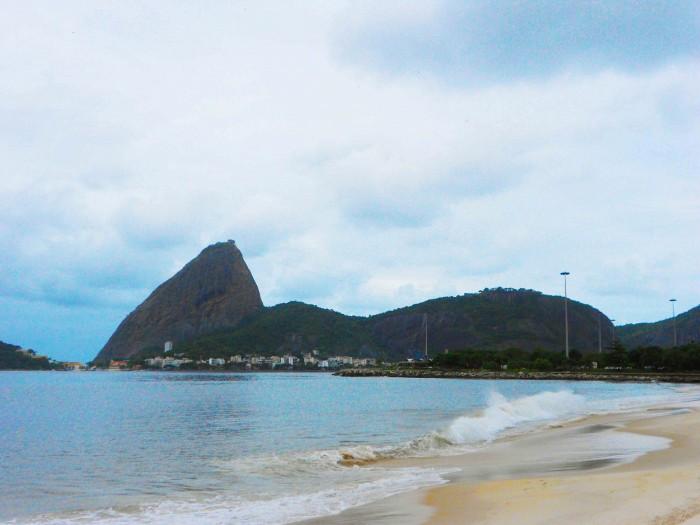 Rio Pâo de Açucar, the sugar mountain