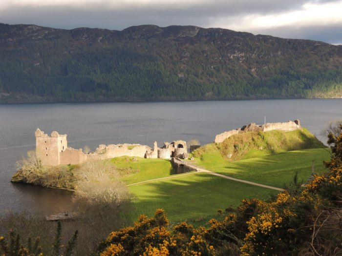 Urquart castle and Loch Ness