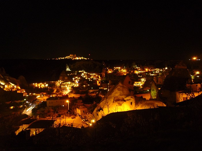 Göreme at night