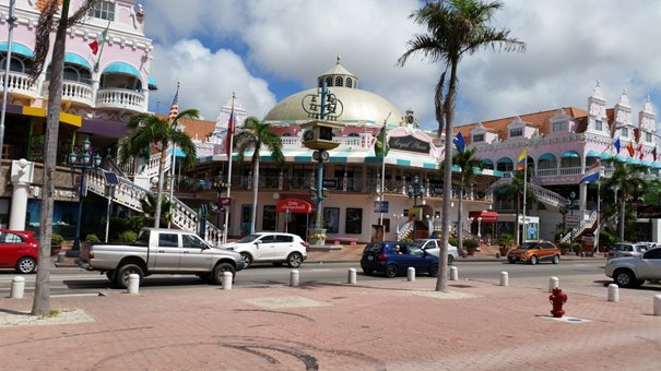 Oranjestad shopping mall