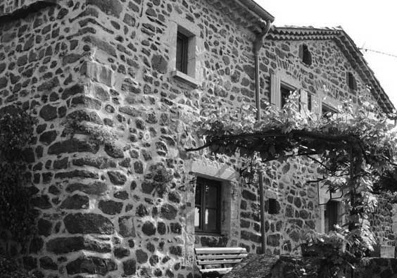 A typical house in Ardèche