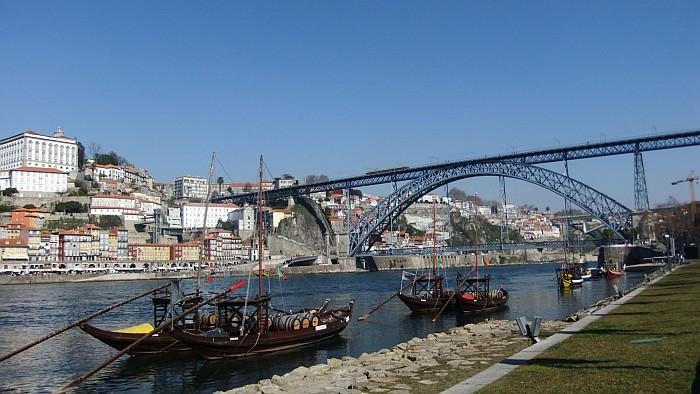 Ribeira and Dom Luís bridge