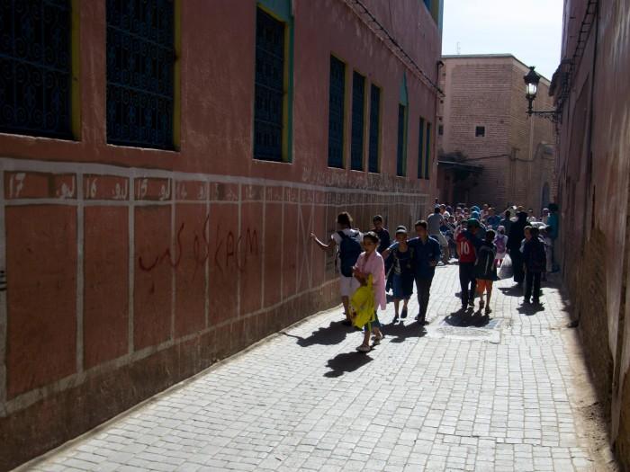 School Marrakesh / Photo: Nastja Cernos