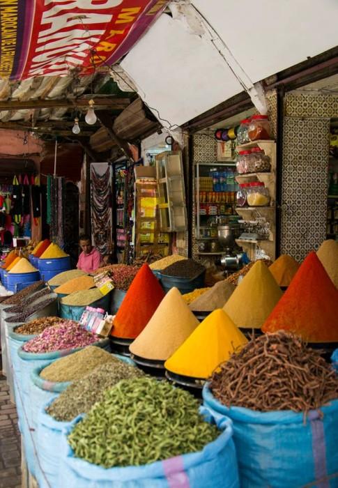 spice market Marrakesh / Photo: Nastja Cernos