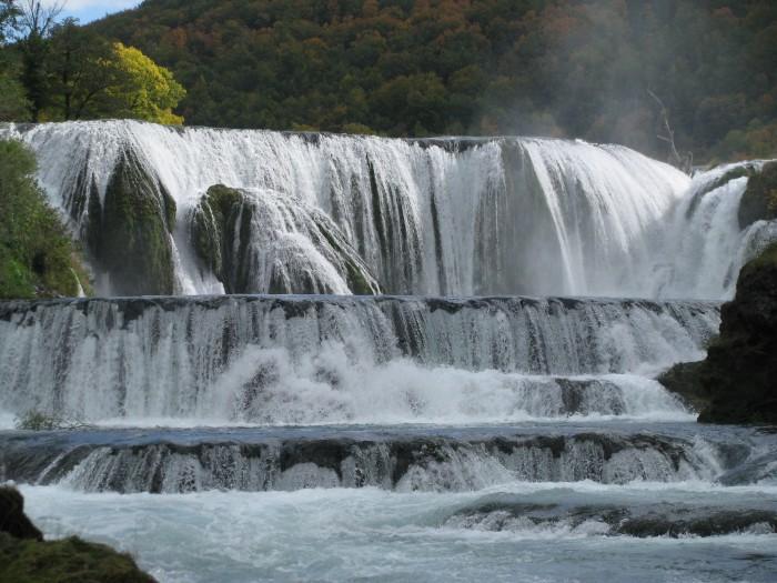 River Una Waterfall