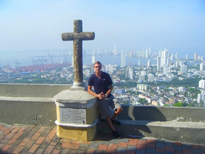 Me in Cartagena de Indias – Caribbean Coast.