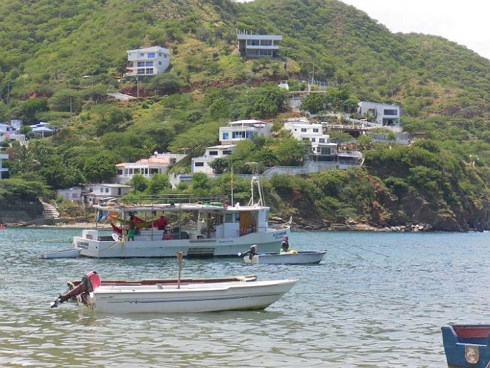 Taganga, fisher village. Caribbean coast.