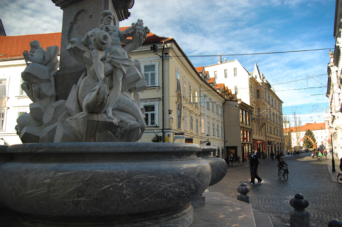 What to see in Ljubljana: Robba's Fountain