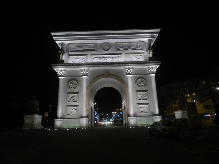 Porta Macedonia (Triumphal Arch)