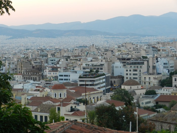After seeing many Greek islands, seeing Athens felt like seeing a bigger Greek island :D Athens, July 2014
