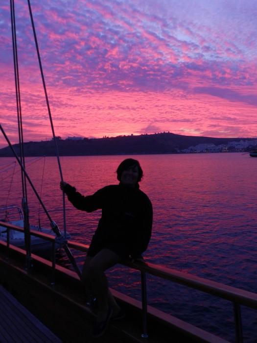 Sometimes the sky surprises us like that. Bodrum, Turkey October 2013