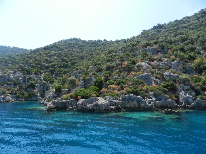 Sunken City, Kekova Island. May 2014