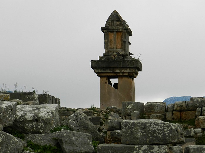 Lycian Tomb, Xanthos, World Heritage Site