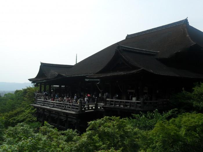 Kiyomizu-dera. Kiyomizu Temple at Kyoto.