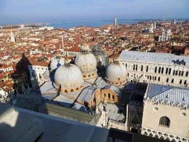 A sunny winter day in Venice