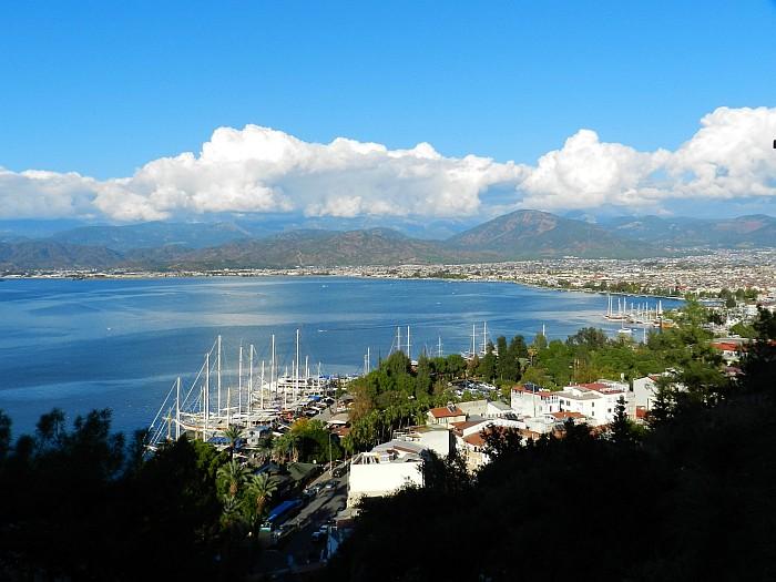View of Fethiye from Karagözler