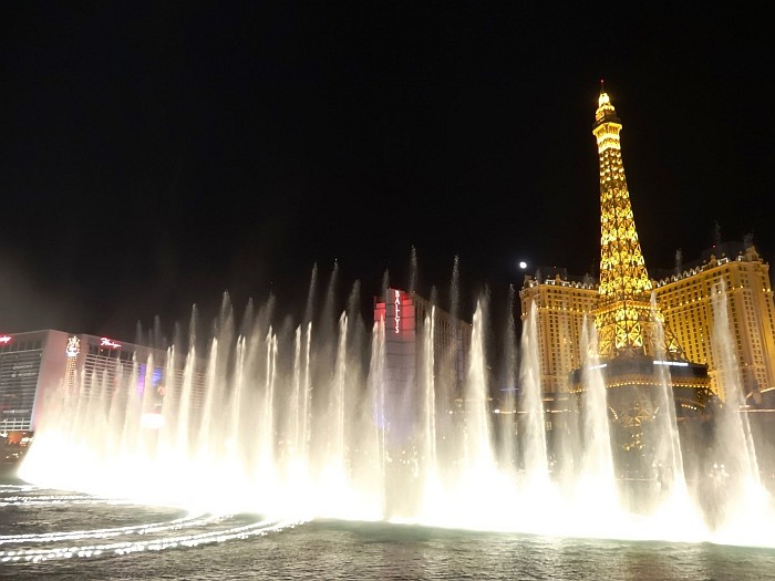The famous Bellagio fountain