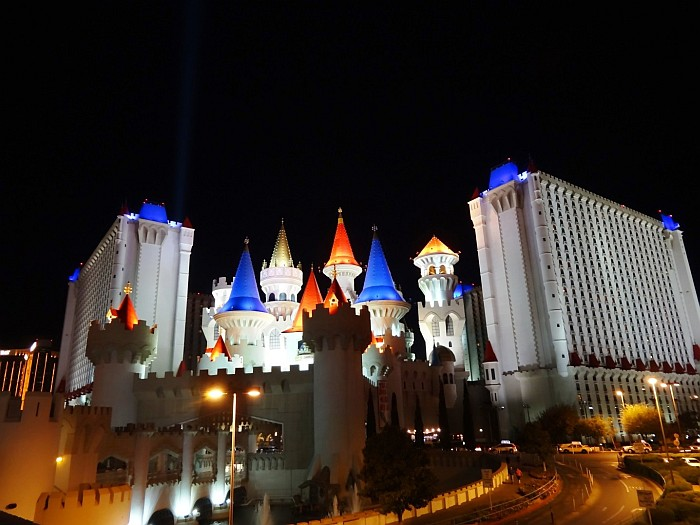 The Excalibur hotel