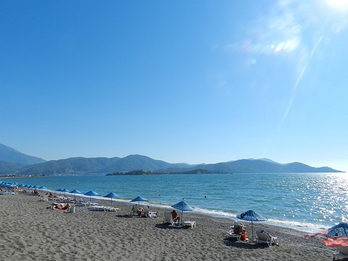 Çalış Beach in city is a place to relax both in summer and winter.