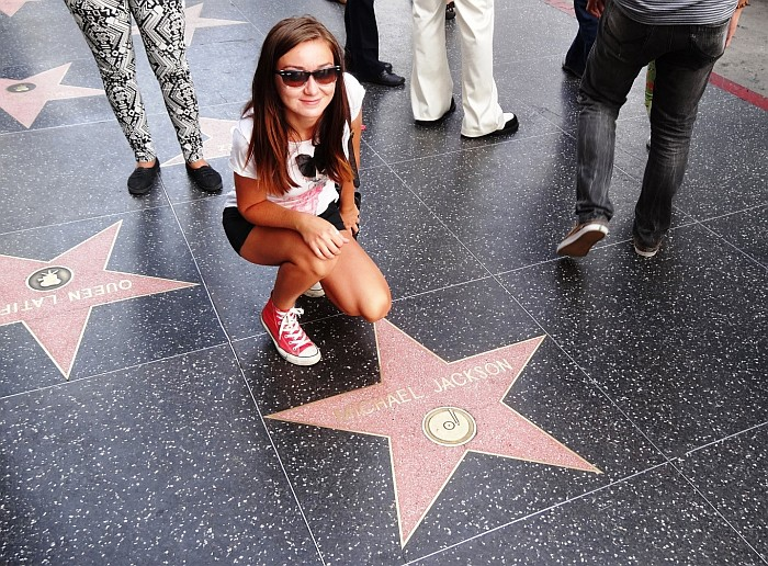 Fun things to do in Los Angeles - Searching for stars on the Walk of Fame