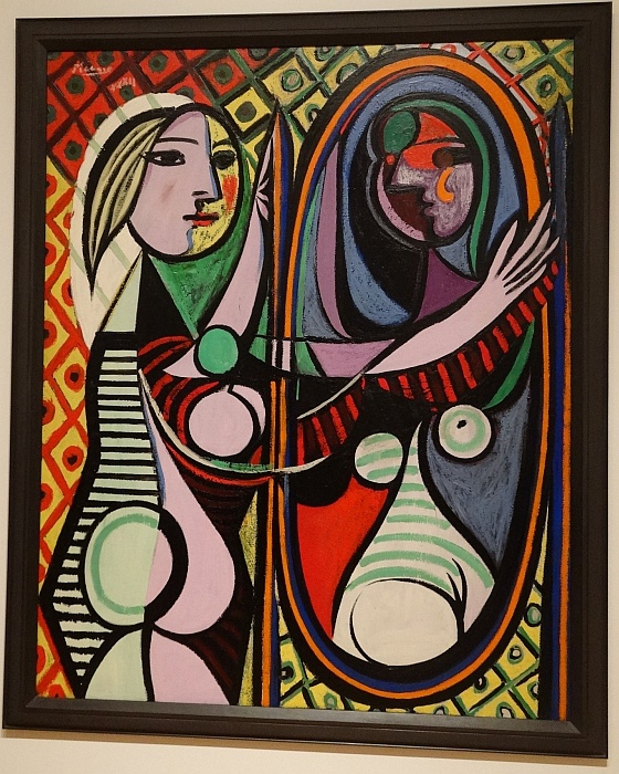 "Pablo's Picasso ""Girl before a Mirror"" (1932)"