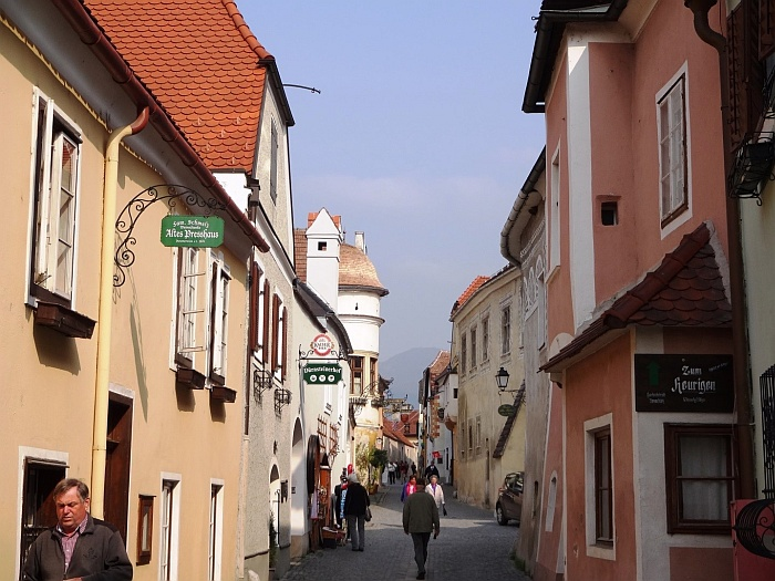 The streets of Krems
