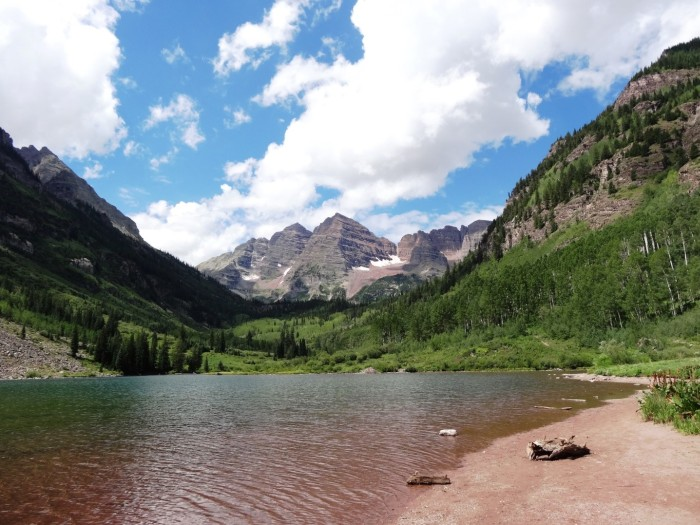 Maroon Bells Hike – it is the most photographed pike in the USA