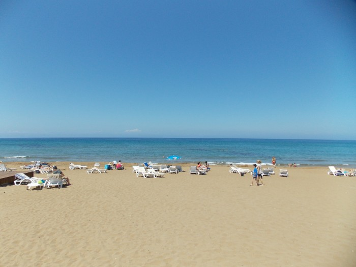 Beach in Northern Cyprus