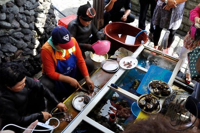 Women Divers on Jeju Island  - South Korea