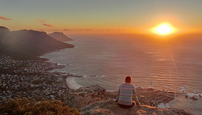 View on Cape Town from Lions Head