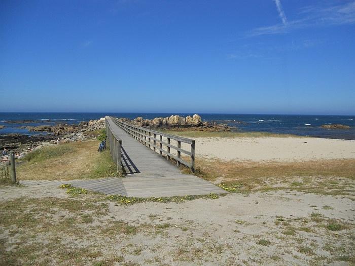 The beach in Viana do castelo