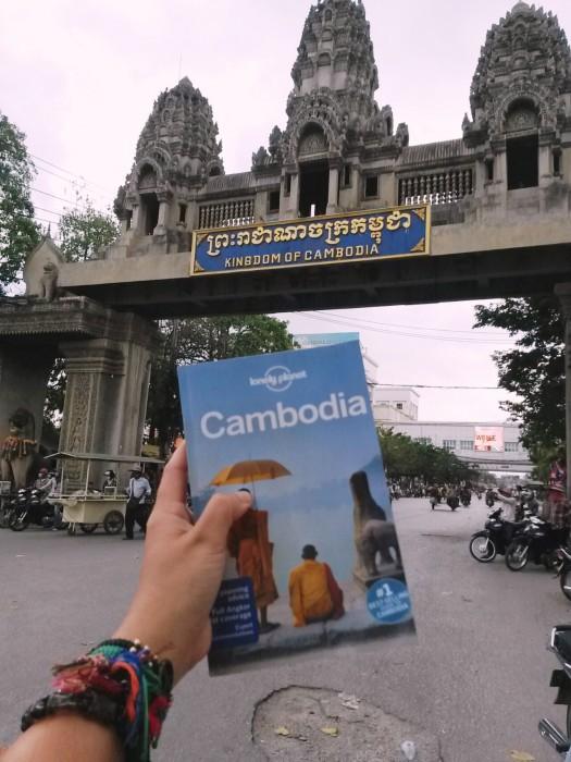 Poipet Border Gate, Cambodia.