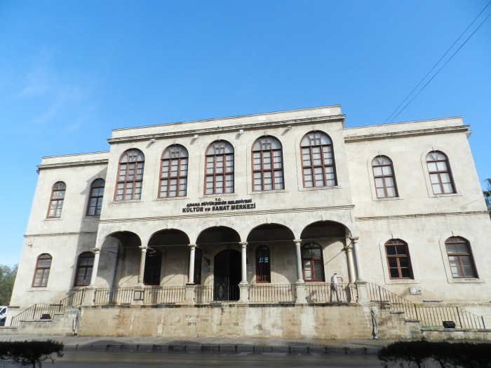 Tarihi Kız Lisesi, Historical Girls High School by the river