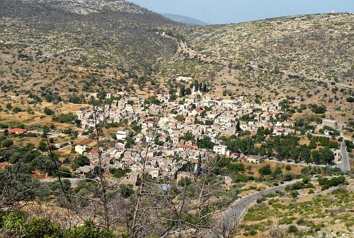 The typical medieval village Vessa