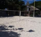 Beach tennis courts - Palm beach
