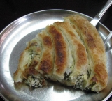 Burek, one of the traditional Bosnian food specialties